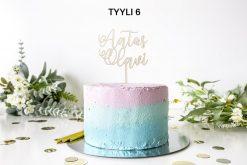 Teksti -kakkukoriste
